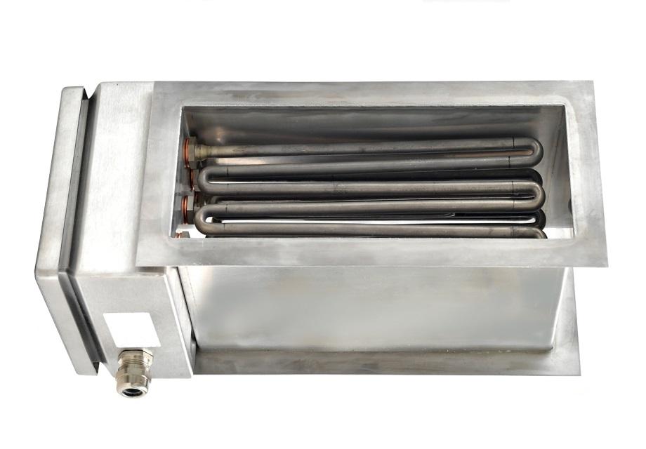 BE Techniek - staafelement luchtverwarmer