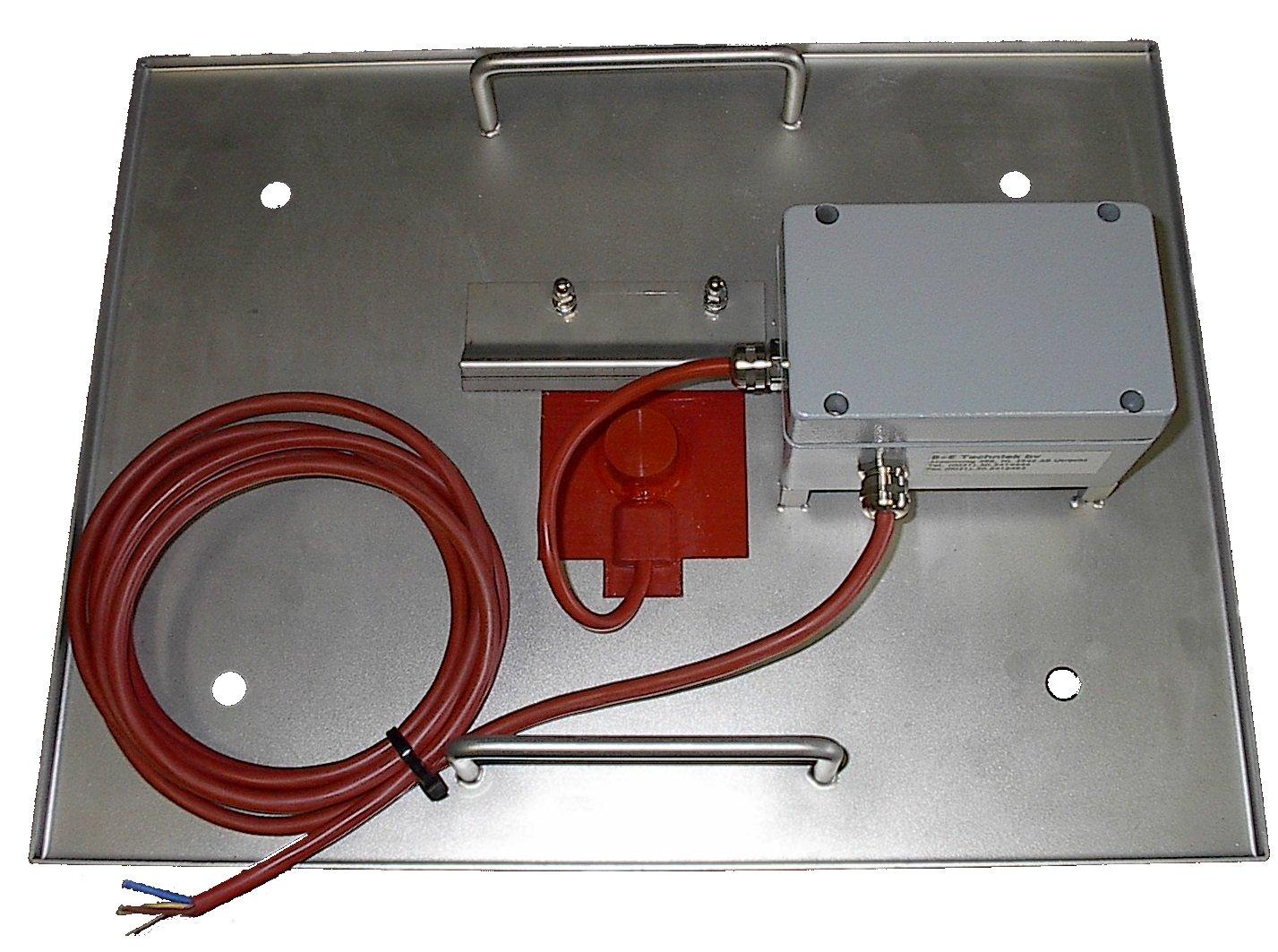 BE Techniek - verwarmingsmat onder warmplaat